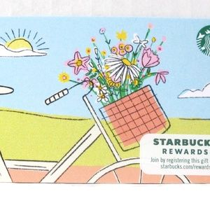 Starbucks 2020 Spring Flowers Card NO VALUE